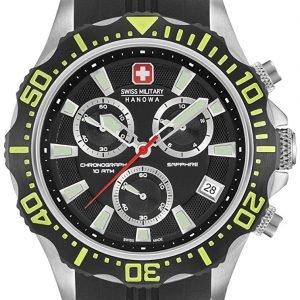 Swiss Military Sport 06-4305.04.007.06 Kello Musta / Kumi