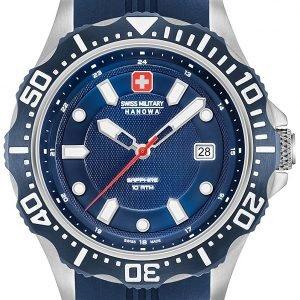 Swiss Military Sport 06-4306.04.003 Kello Sininen / Kumi