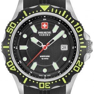 Swiss Military Sport 06-4306.04.007.06 Kello Musta / Kumi