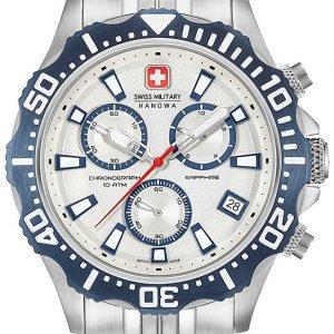 Swiss Military Sport 06-5305.04.001.03 Kello Hopea / Teräs