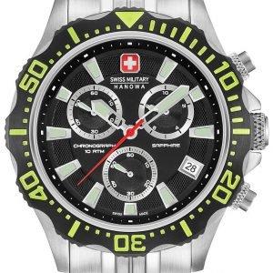 Swiss Military Sport 06-5305.04.007.06 Kello Musta / Teräs