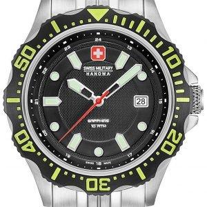 Swiss Military Sport 06-5306.04.007.06 Kello Musta / Teräs