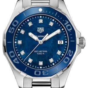 Tag Heuer Aquaracer Lady Way131l.Ba0748 Kello Sininen / Teräs