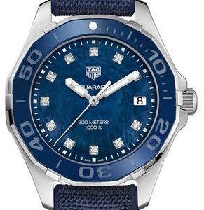 Tag Heuer Aquaracer Lady Way131l.Ft6091 Kello Sininen / Kumi