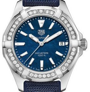 Tag Heuer Aquaracer Lady Way131n.Ft6091 Kello Sininen / Kumi