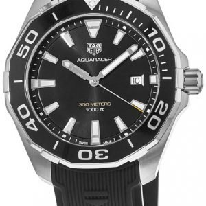 Tag Heuer Aquaracer Way101a.Ft6141 Kello Musta / Kumi