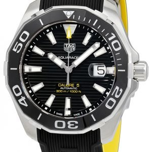 Tag Heuer Aquaracer Way201a.Ft6069 Kello Musta / Kumi