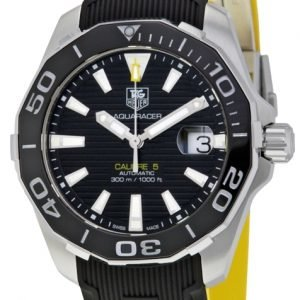 Tag Heuer Aquaracer Way211a.Ft6068 Kello Musta / Kumi