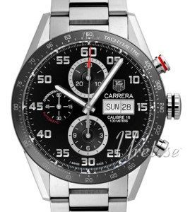 Tag Heuer Carrera Calibre 16 Day Date Automatic Chronograph Cv2a1r.Ba0799 Kello