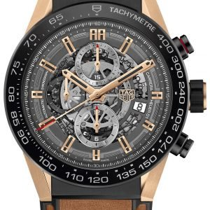 Tag Heuer Carrera Car2a5c.Ft6125 Kello Harmaa / Kumi