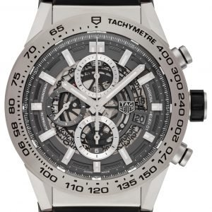 Tag Heuer Carrera Car2a8a.Ft6072 Kello Harmaa / Kumi