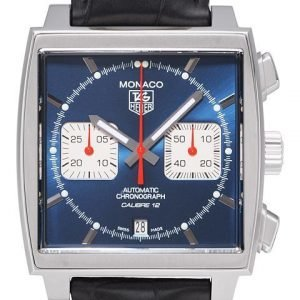 Tag Heuer Monaco Calibre 12 Automatic Chronograph Caw2111.Fc6183 Kello