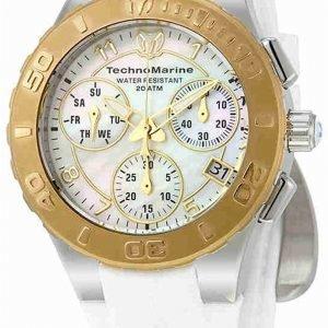 Technomarine Tm-115089 Kello Valkoinen / Kumi