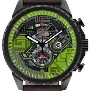 Timecode Atom Tc-1013-05 Kello Monivärinen / Nahka