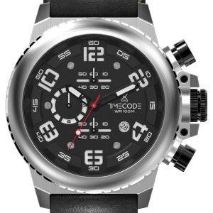Timecode Everest 1953 Tc-1004-01 Kello Musta / Nahka