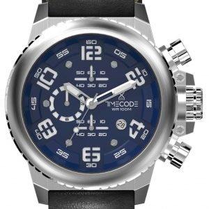 Timecode Everest 1953 Tc-1004-03 Kello Sininen / Nahka