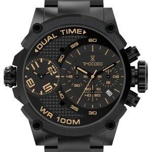 Timecode Tc-1003-05 Kello Musta / Teräs
