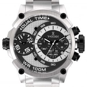 Timecode Tc-1003-10 Kello Musta / Teräs