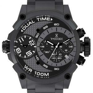 Timecode Tc-1003-11 Kello Musta / Teräs