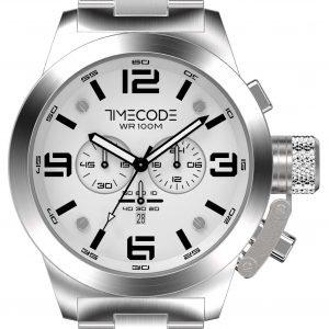Timecode Wto 1994 Tc-1007-02 Kello Valkoinen / Teräs