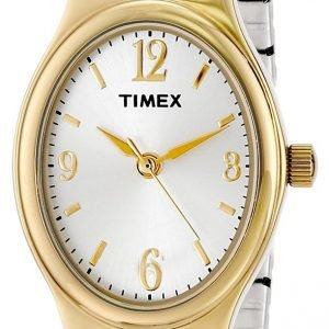 Timex Classic Elevated T26301 Kello Hopea / Kullansävytetty