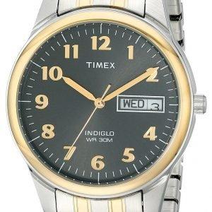 Timex Classic Elevated T26481 Kello Harmaa / Kullansävytetty