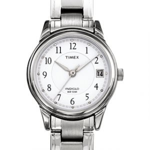 Timex Classic Elevated T29271 Kello Valkoinen / Teräs