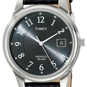 Timex Classic Elevated T29321 Kello Harmaa / Nahka