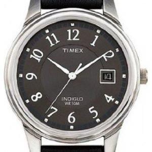 Timex Classic Elevated T29321pf Kello Musta / Nahka