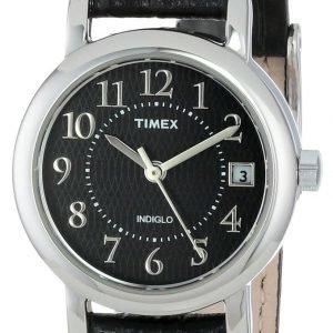 Timex Classic Elevated T2n335 Kello Musta / Nahka