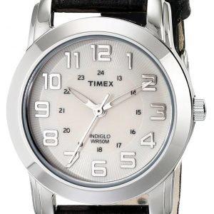 Timex Classic Elevated T2n4359j Kello Valkoinen / Nahka
