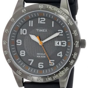 Timex Classic Elevated T2n919 Kello Harmaa / Kumi