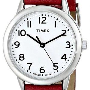 Timex Classic Elevated T2n952 Kello Valkoinen / Nahka