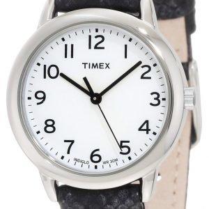 Timex Classic Elevated T2n964 Kello Valkoinen / Nahka