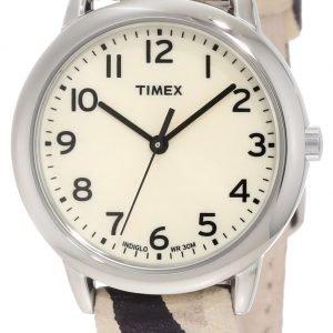 Timex Classic Elevated T2n967 Kello Beige / Nahka