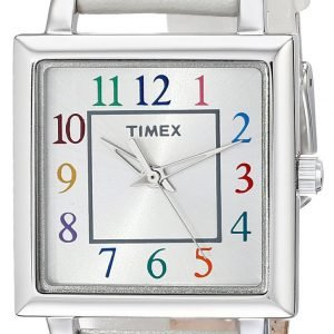Timex Classic Elevated T2p377 Kello Hopea / Nahka