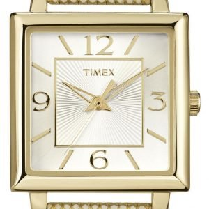 Timex Classic Elevated T2p379 Kello Hopea / Nahka