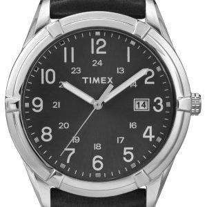 Timex Classic Elevated Tw2p76700 Kello Musta / Nahka