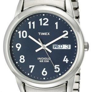 Timex Classic T20031pf Kello Sininen / Teräs