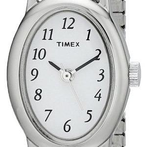 Timex Classic T21902 Kello Valkoinen / Teräs