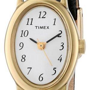 Timex Classic T21912 Kello Valkoinen / Nahka