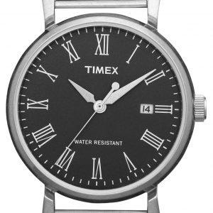 Timex Classic T2n539 Kello Musta / Teräs
