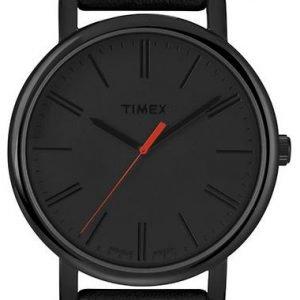 Timex Classic T2n794pf Kello Musta / Nahka