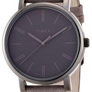 Timex Classic T2n795 Kello Harmaa / Nahka