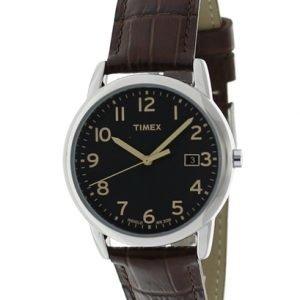 Timex Classic T2n948 Kello Musta / Nahka