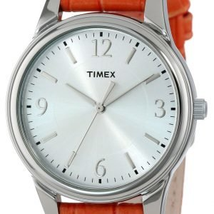 Timex Classic T2p087tn Kello Hopea / Nahka