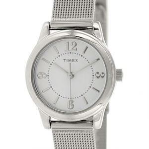 Timex Classic T2p457 Kello Valkoinen / Teräs