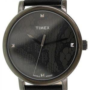 Timex Classic T2p461 Kello Musta / Nahka