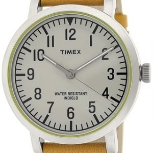 Timex Classic T2p505 Kello Valkoinen / Nahka