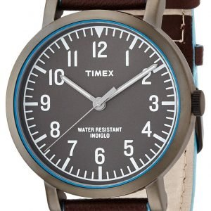 Timex Classic T2p506 Kello Harmaa / Nahka